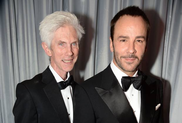 bae605c68b58 Tom Ford has married his long-term partner Richard Buckley. The fashion  designer revealed his happy news during an appearance at London s Apple  Store ...