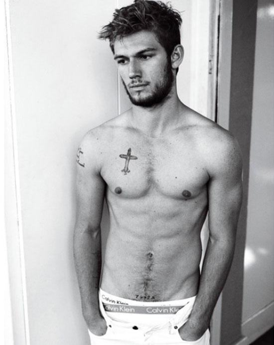 That alex pettyfer shirtless very