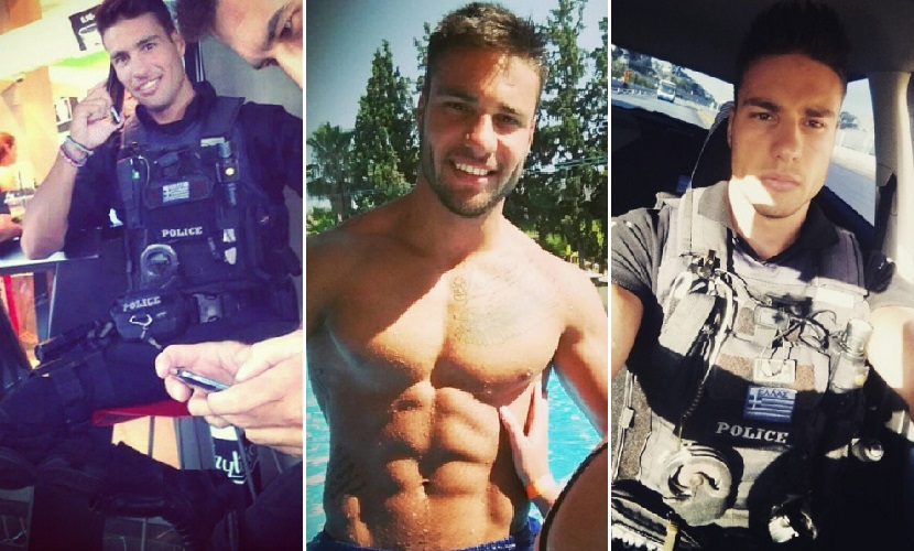 Hot male cops
