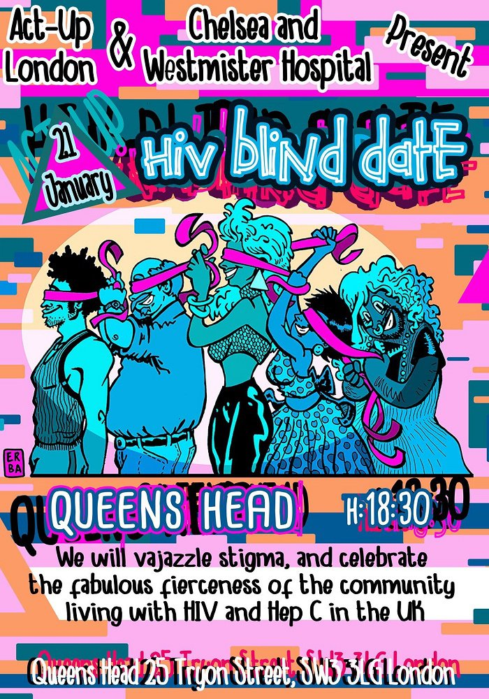 HIV Blind Date poster