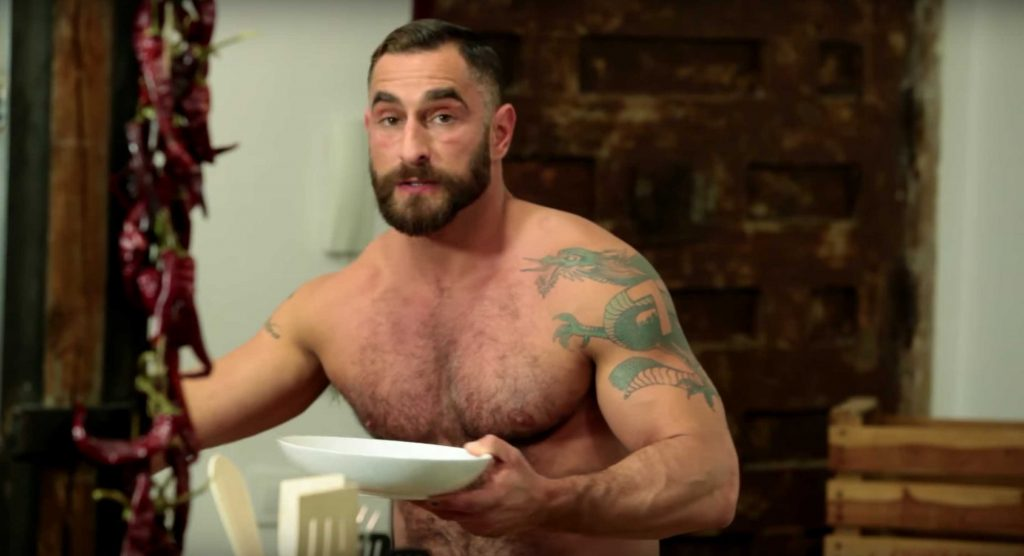 The Bear-Naked Chef Brings His Mouth-Watering Skills To