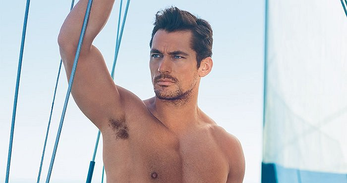 14b76982b3be1 David Gandy flaunts his new swimwear range for M&S Autograph