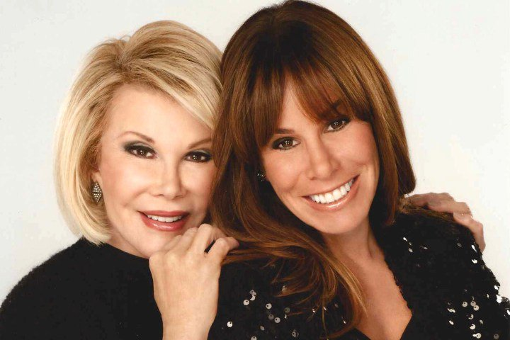 For Sunday Features - Melissa Rivers and her mother Joan Rivers. For use with Barbara Hoffman feature. Courtesy Melissa Rivers