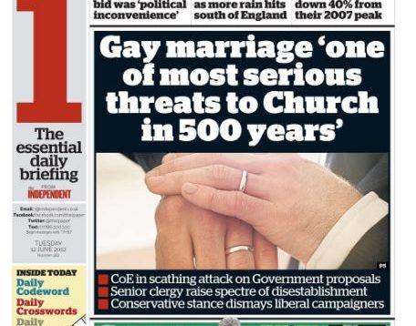 The same-sex marriage debate has been a tumultuous one for the Church of England