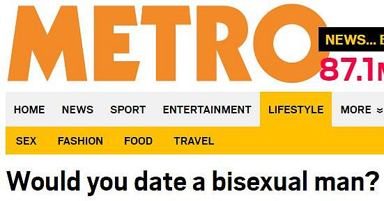would you date a bisexual guy