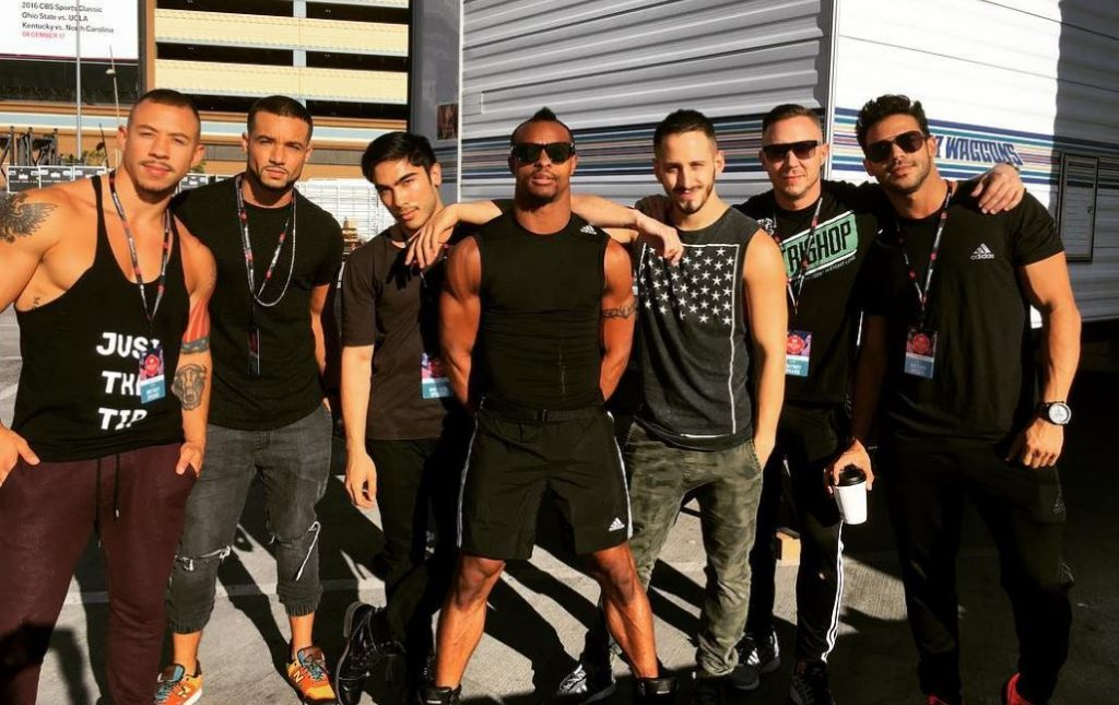 Britney's male backup dancers are a gift from God - PICS ...