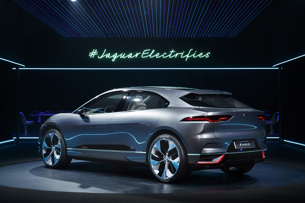 Jaguar's new I-Pace SUV is due on sale in 2018.