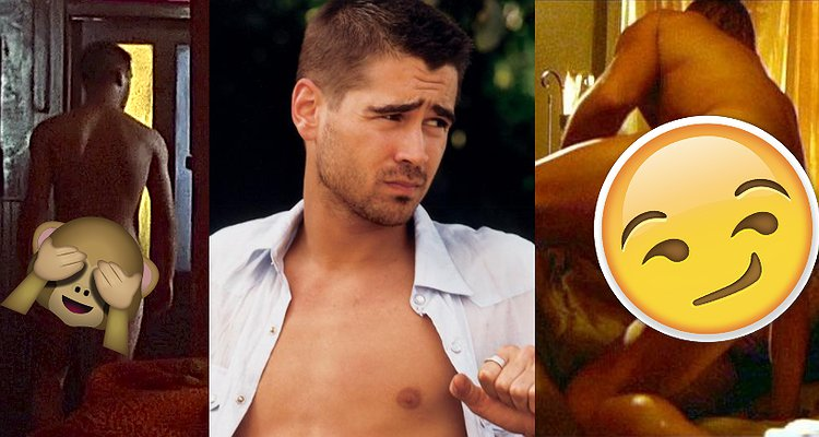 Colin farrell naked