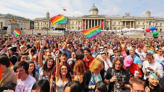 GAY PRIDE GREAT BRITAIN