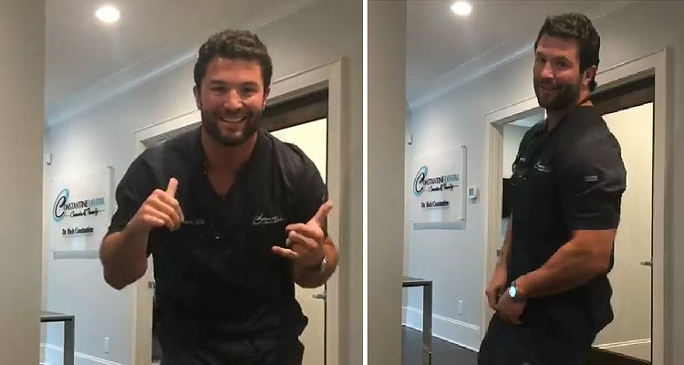 Hunky dentist goes viral in Facebook video and we know why