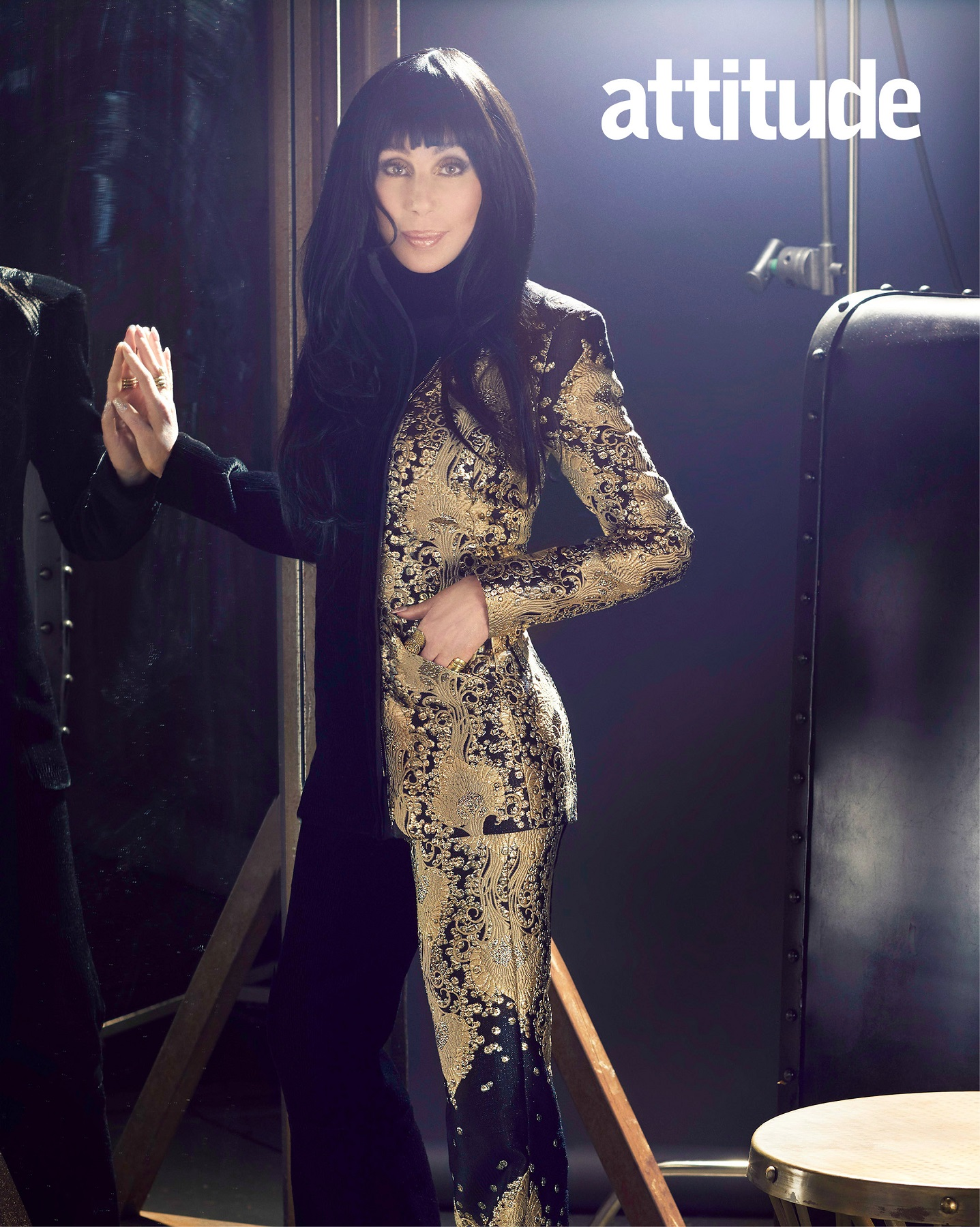 Cher, Andy Cohen Rami Malek cover Attitude's October issue