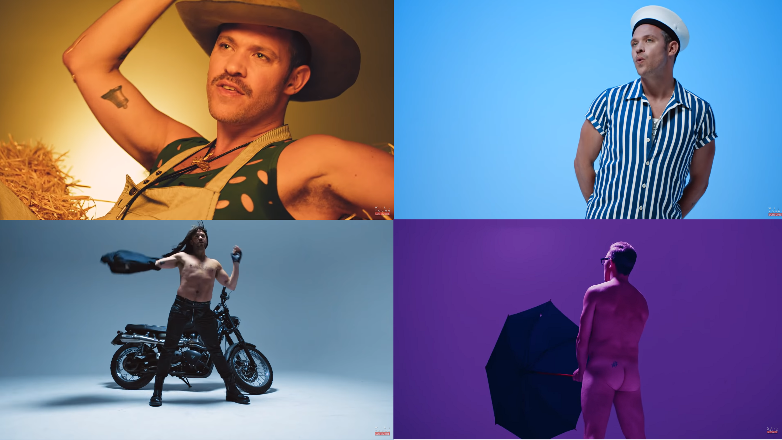 Will Young releases comeback single 'All The Songs