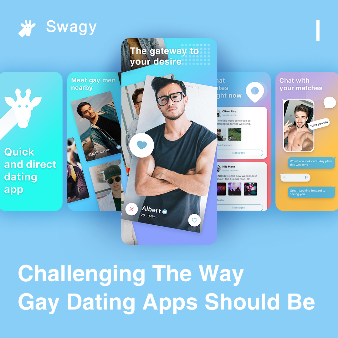 Swagy is free gay dating app